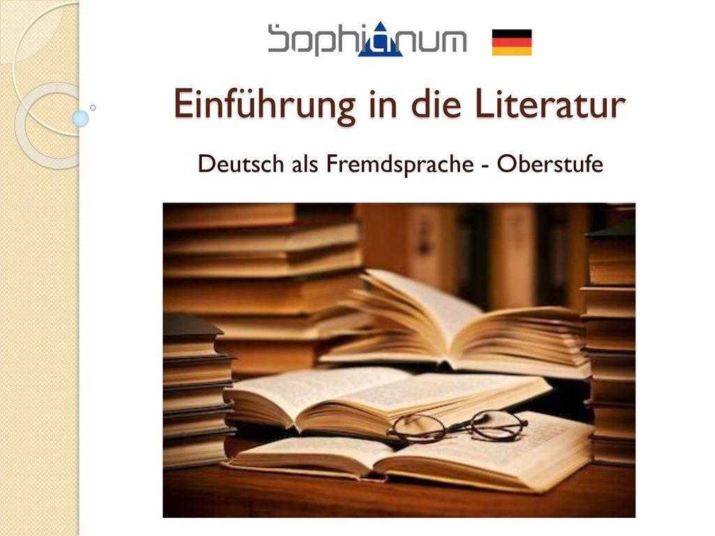 Einführung in die Literatur