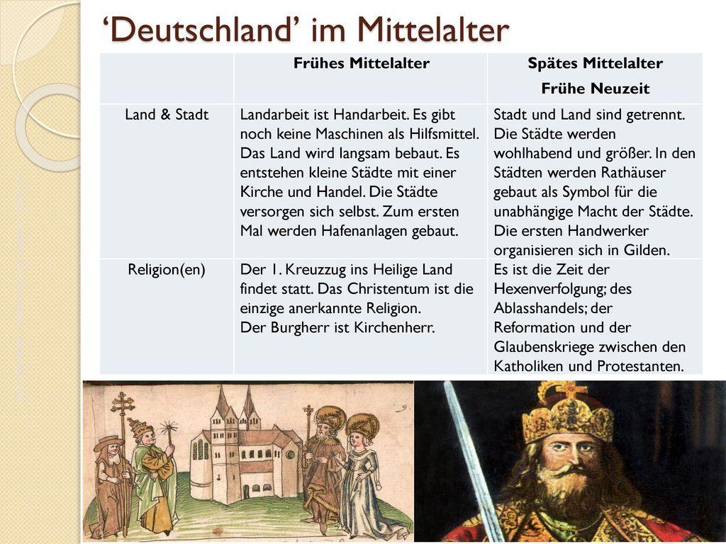'Deutschland' im Mittelalter