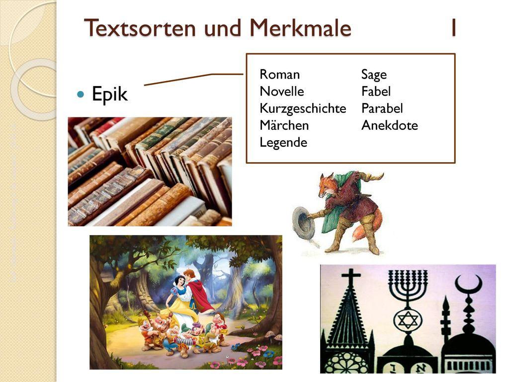 Textsorten und Merkmale I