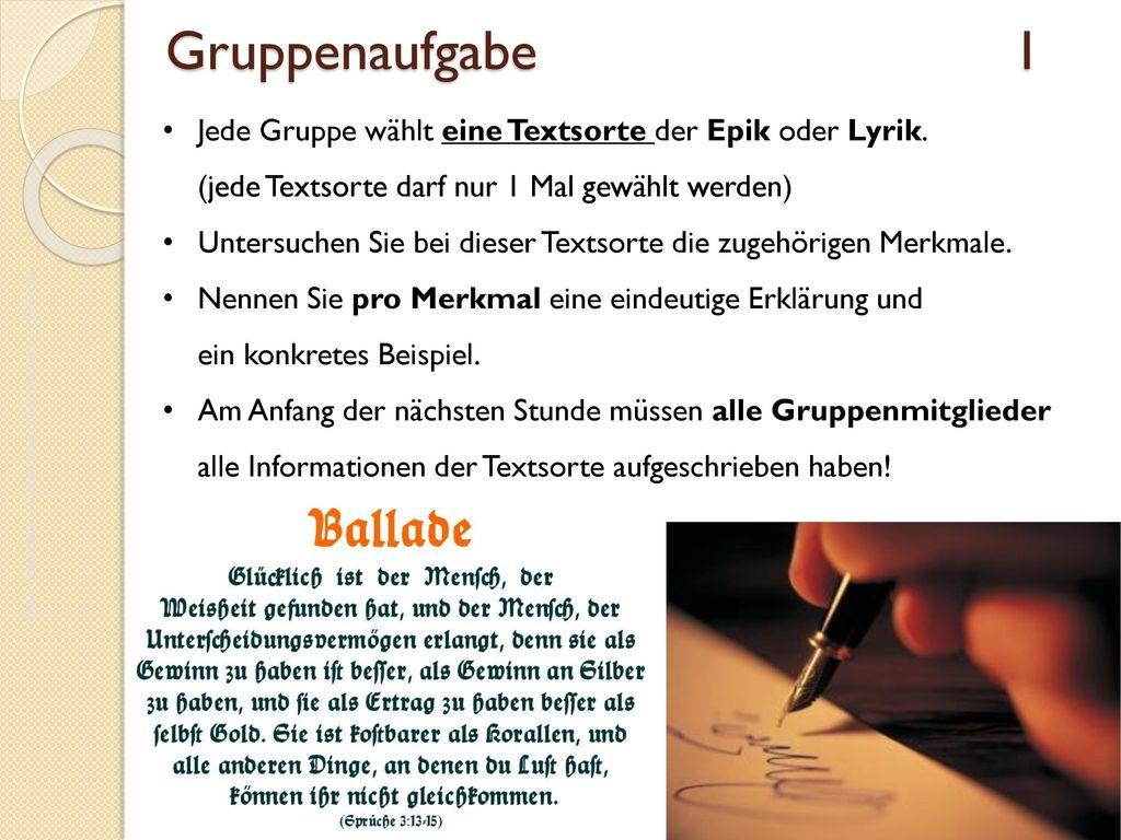DaF- Oberstufe – Einführung in die Literatur - JG.01.16