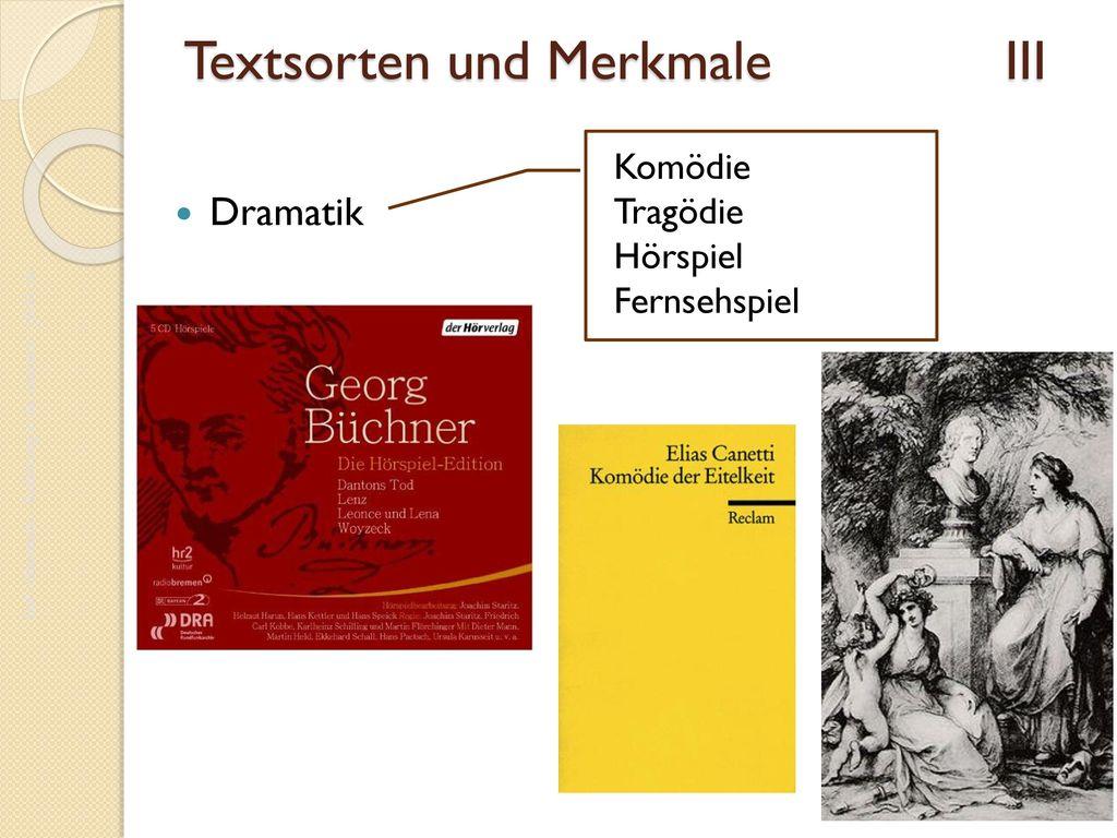 Textsorten und Merkmale III