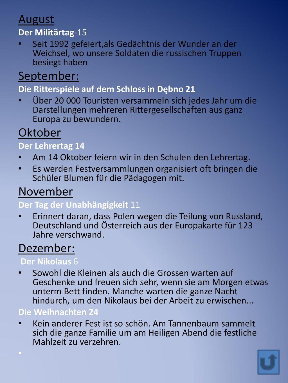 August September: Oktober November Dezember: Der Militärtag-15