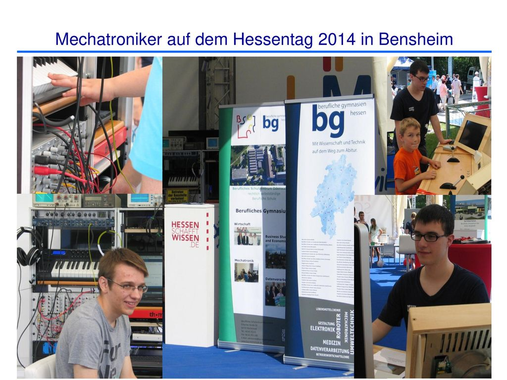 Mechatroniker auf dem Hessentag 2014 in Bensheim