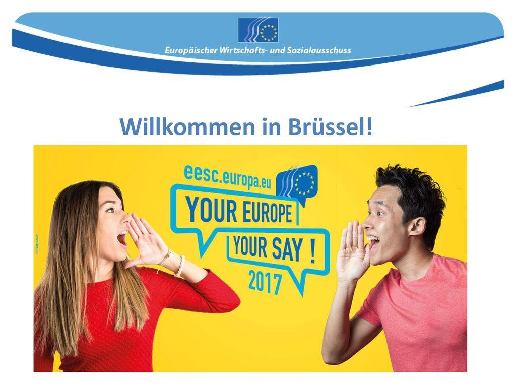Willkommen in Brüssel!