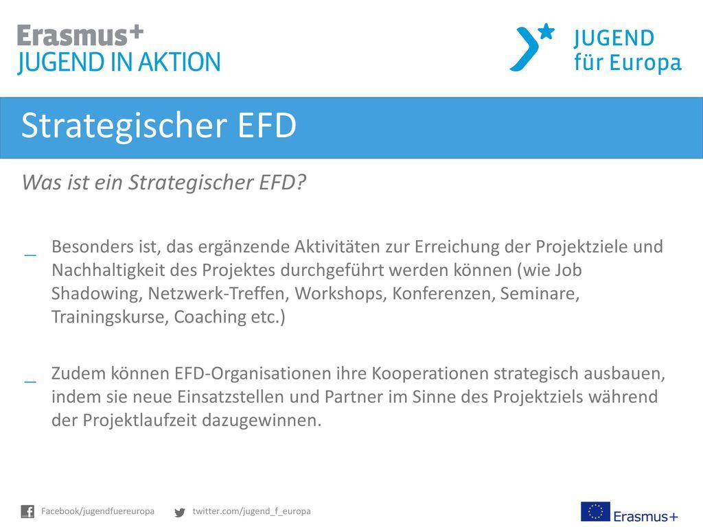 Strategischer EFD Was ist ein Strategischer EFD