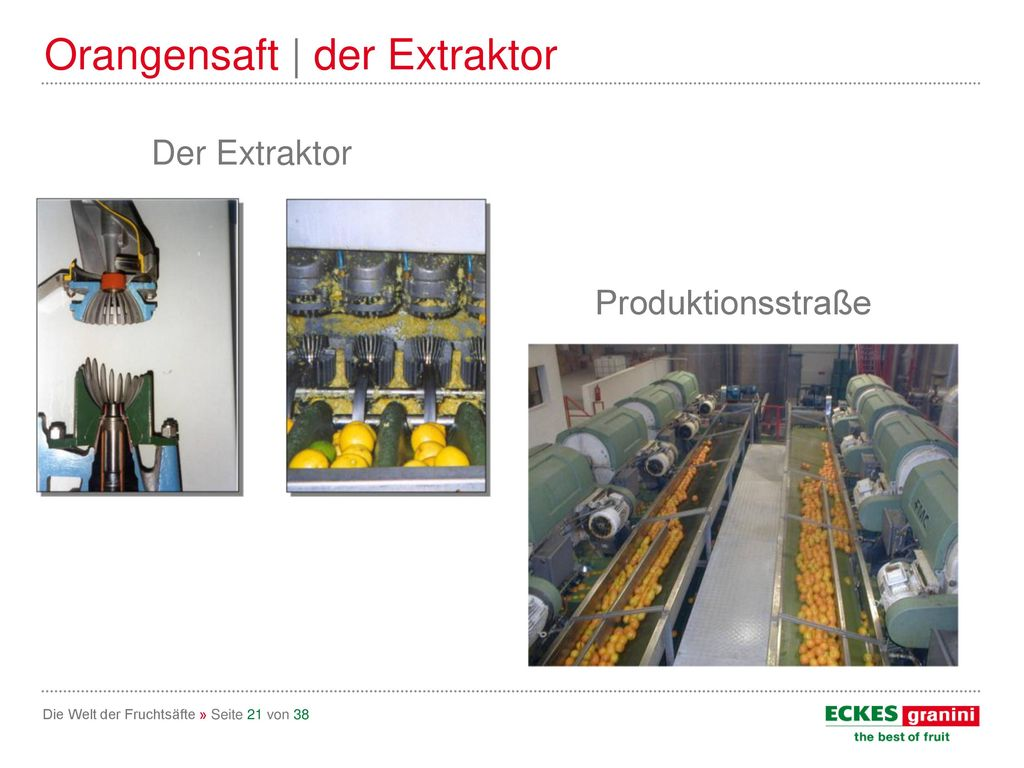 Orangensaft | der Extraktor