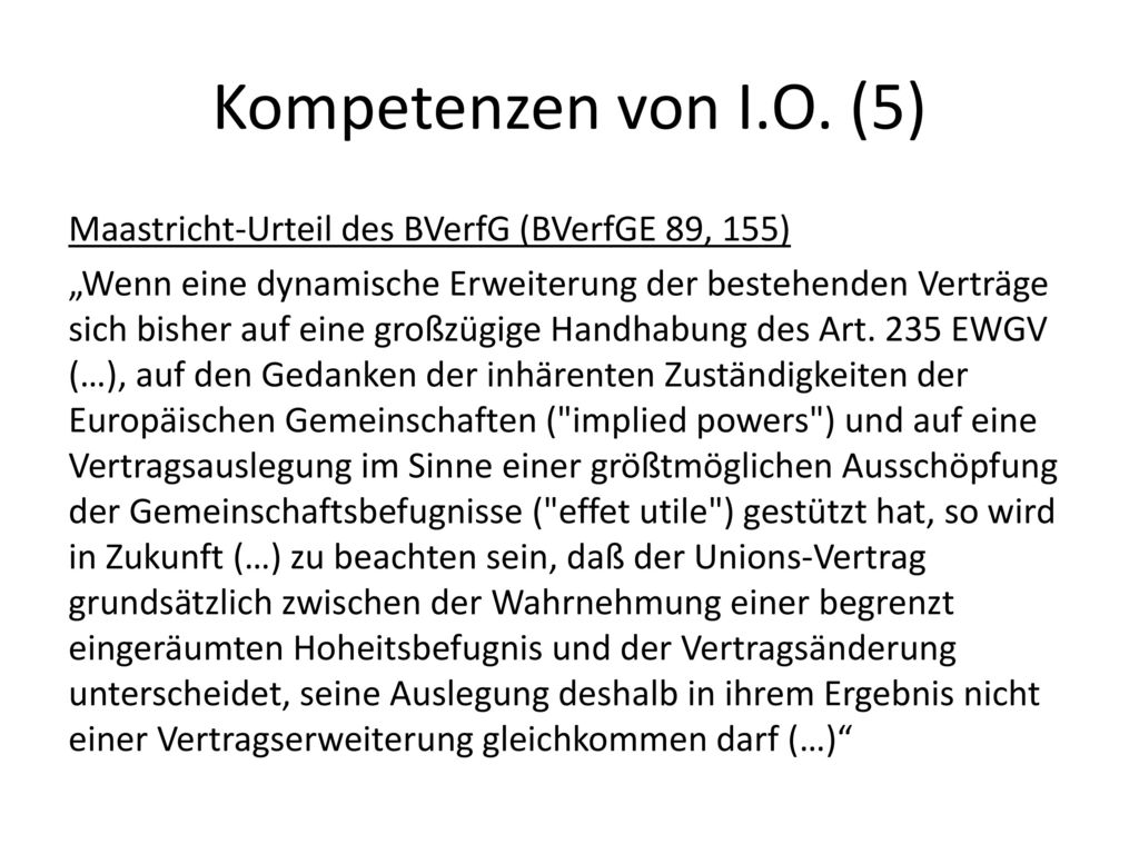 Kompetenzen von I.O. (5)