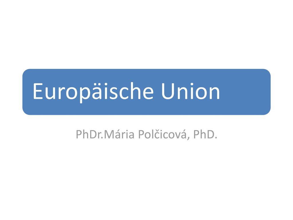 PhDr.Mária Polčicová, PhD.