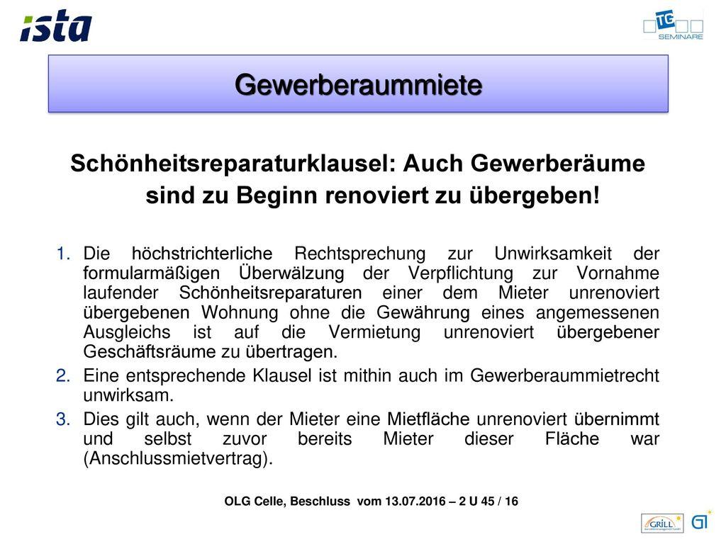 OLG Celle, Beschluss vom 13.07.2016 – 2 U 45 / 16