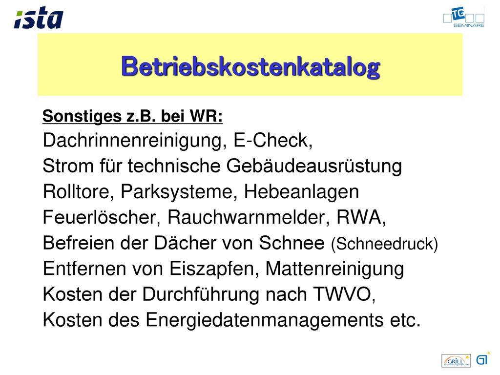 Wohnraummiete Betriebskosten: Änderung der Rechtsprechung zum Vorwegabzug!