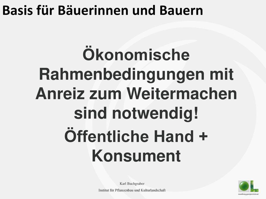 Öffentliche Hand + Konsument
