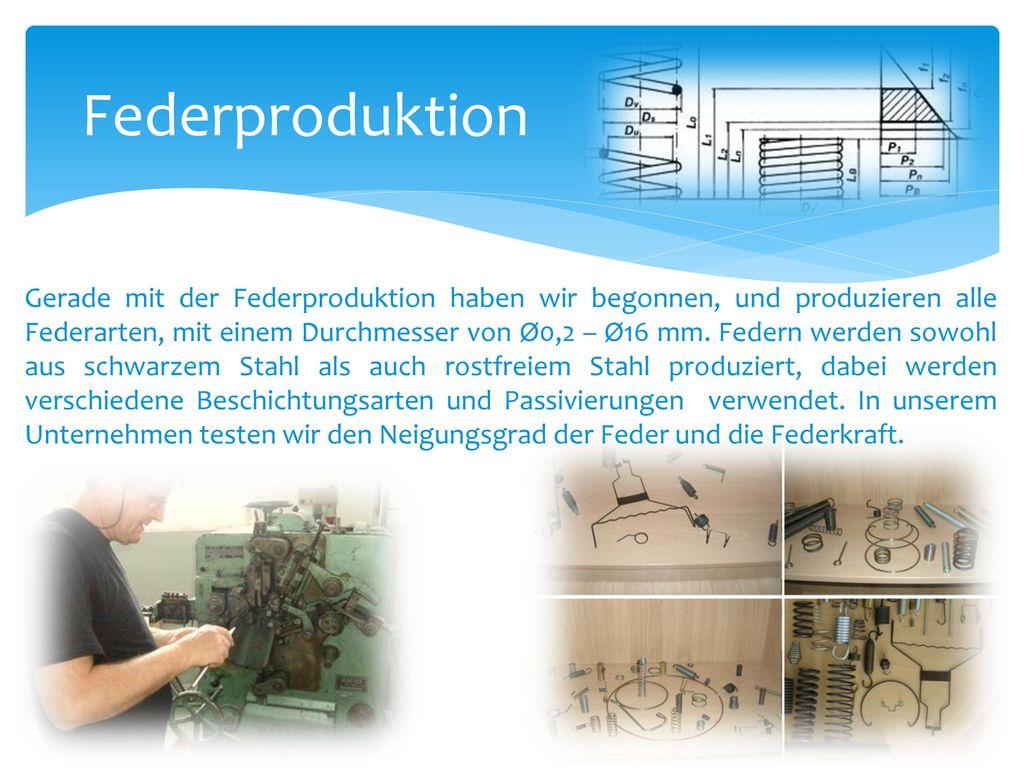 Federproduktion