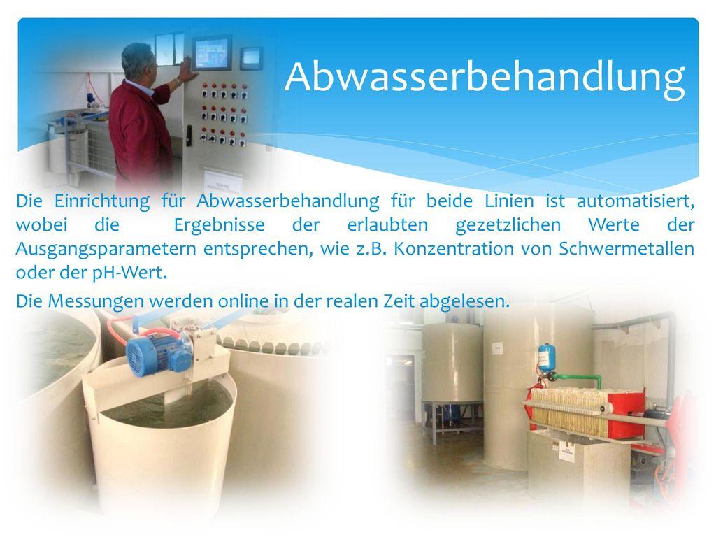 Abwasserbehandlung
