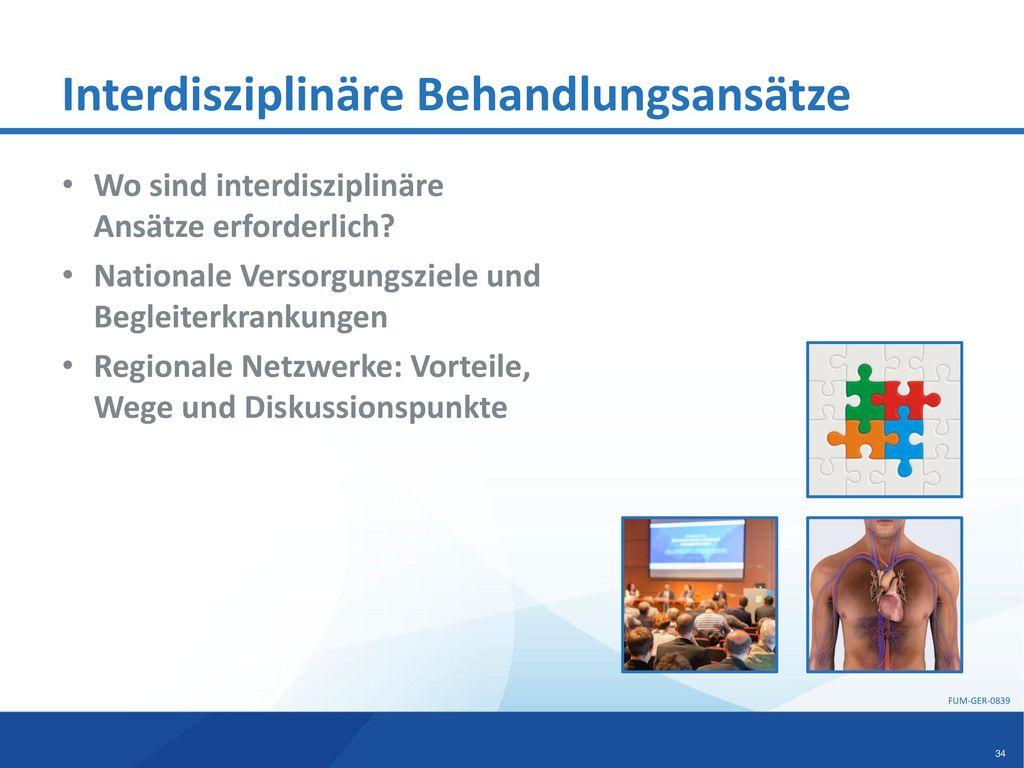 Interdisziplinäre Behandlungsansätze