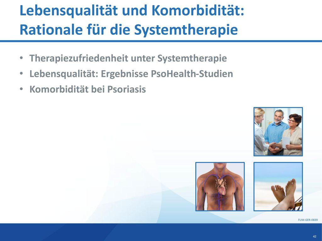 Lebensqualität und Komorbidität: Rationale für die Systemtherapie