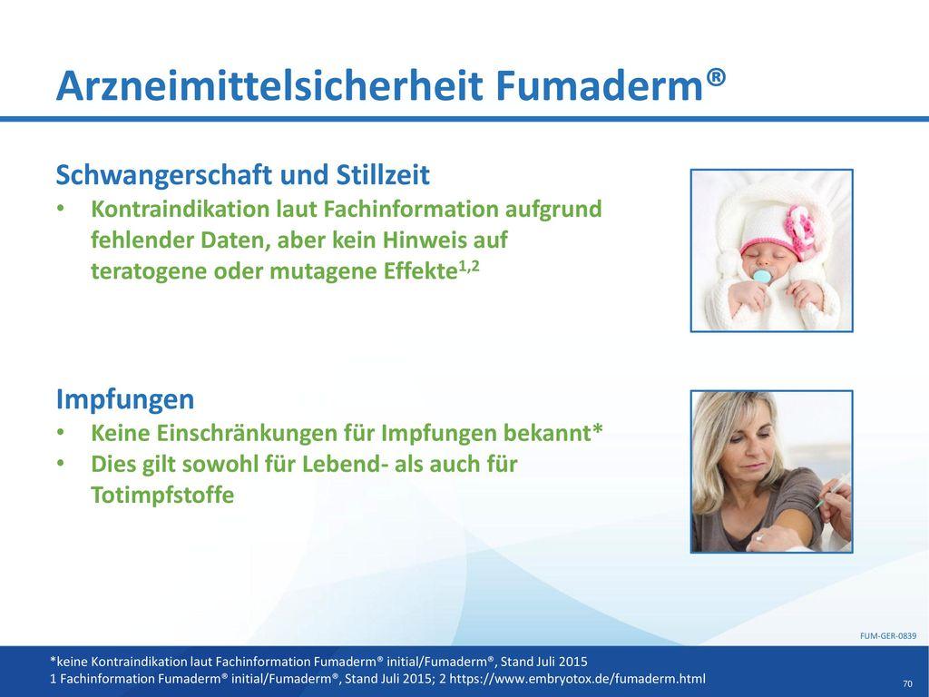 Arzneimittelsicherheit Fumaderm®