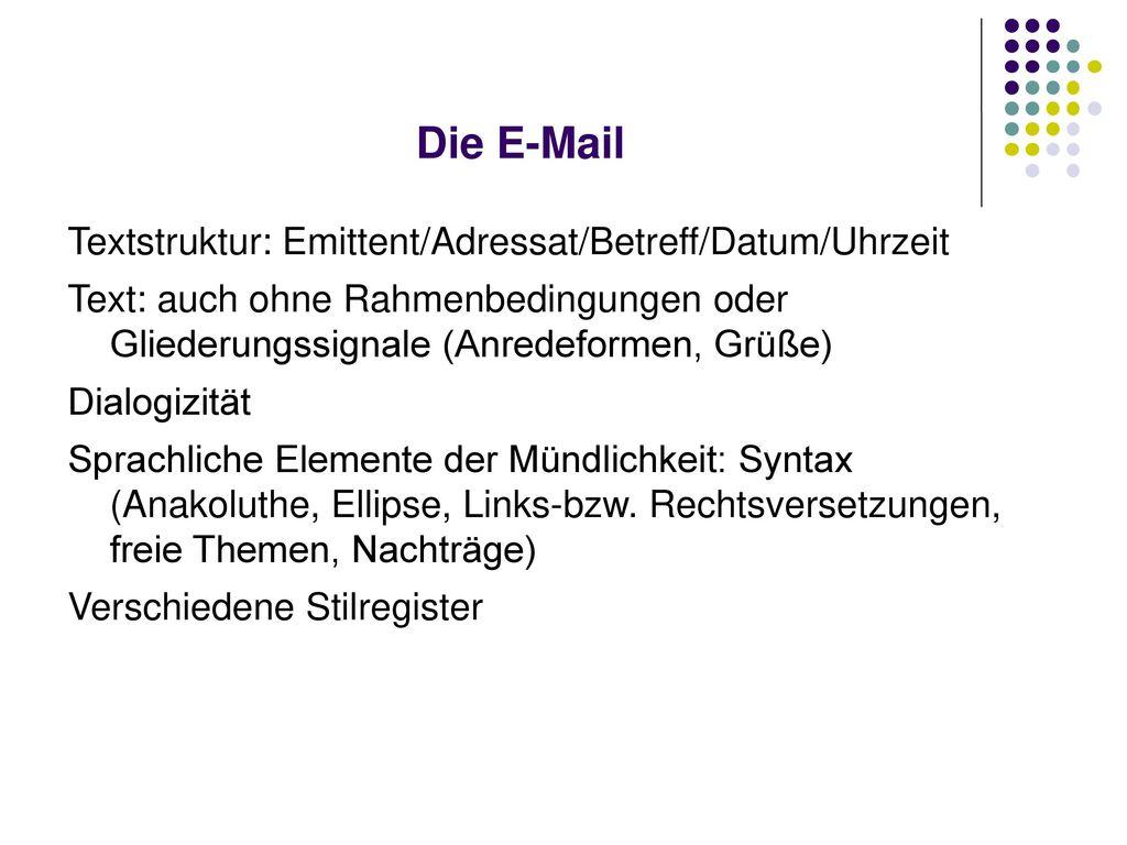 Die E-Mail