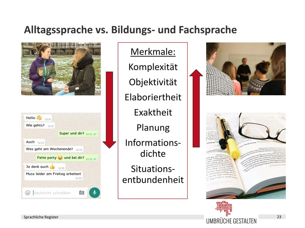 Register Alltagssprache
