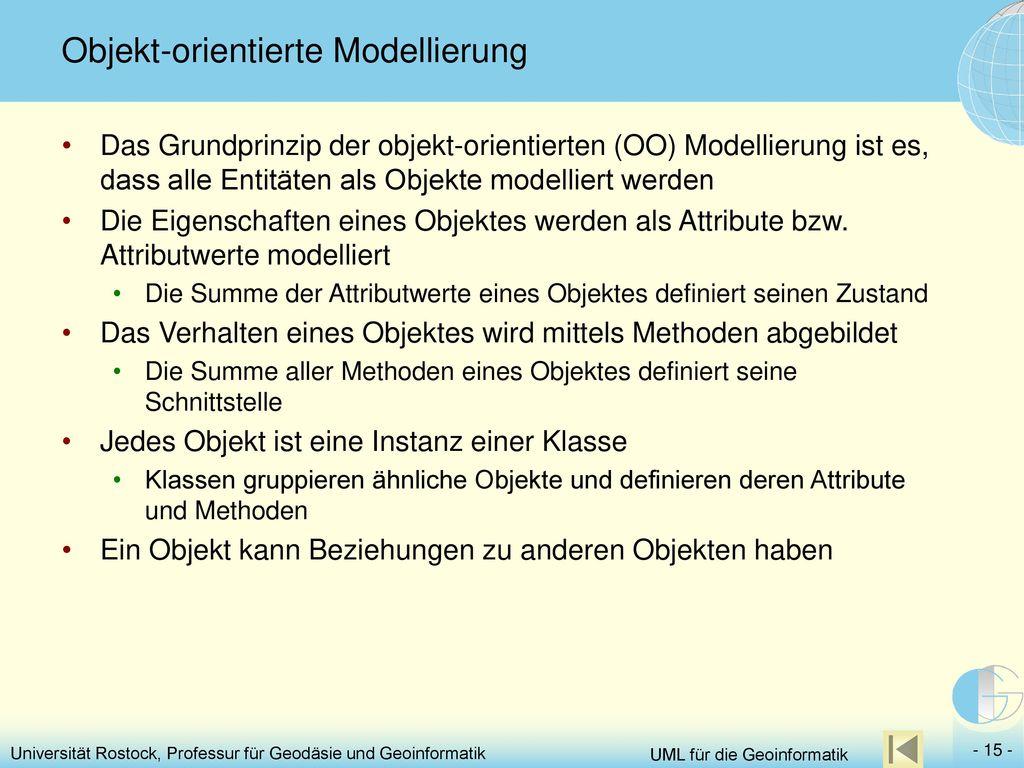 Objekt-orientierte Modellierung