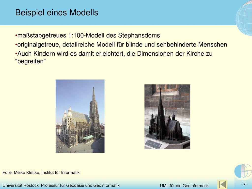 Beispiel eines Modells