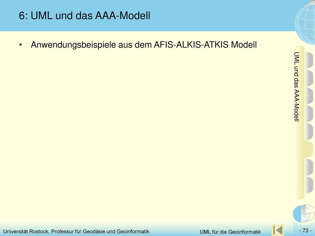 6: UML und das AAA-Modell