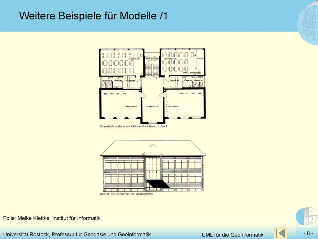 Weitere Beispiele für Modelle /1