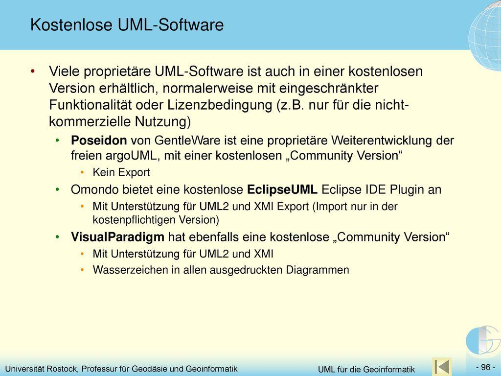Kostenlose UML-Software