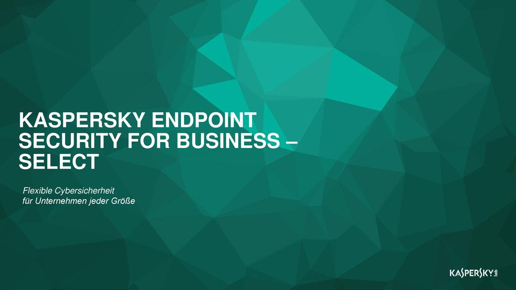 KASPERSKY ENDPOINT SECURITY FOR BUSINESS – SELECT
