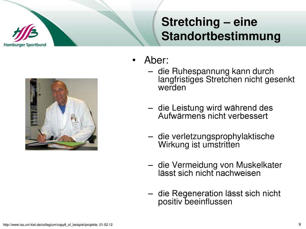 Stretching – eine Standortbestimmung