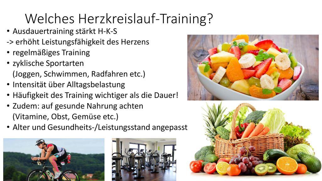 Welches Herzkreislauf-Training