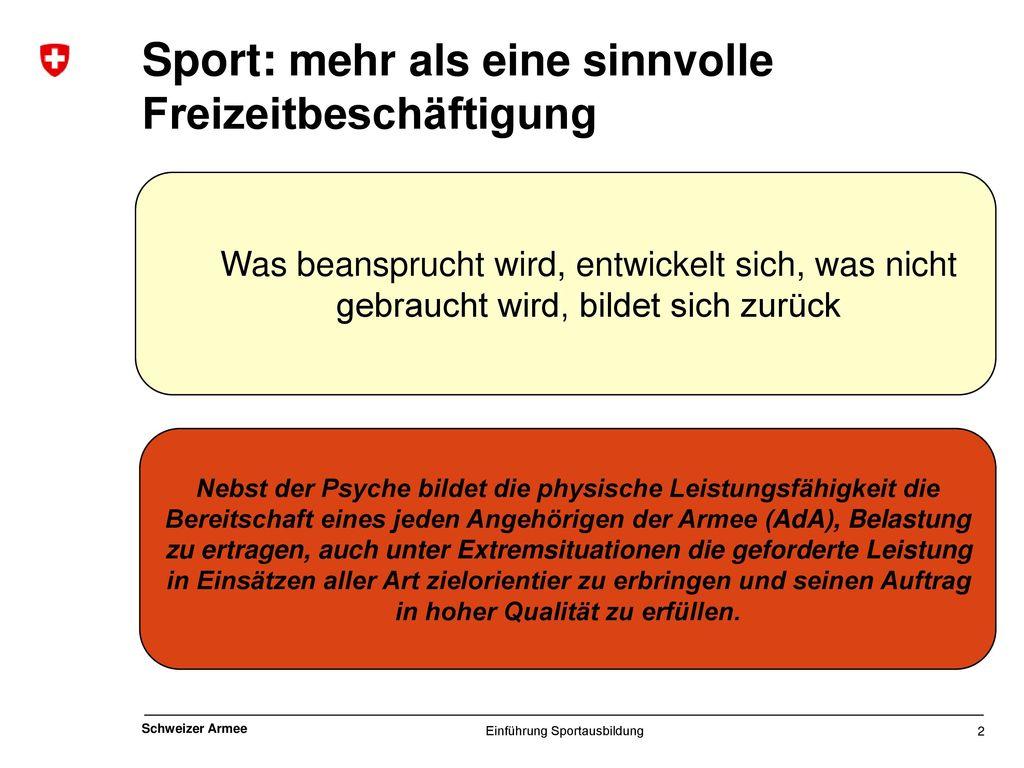 Sport: mehr als eine sinnvolle Freizeitbeschäftigung