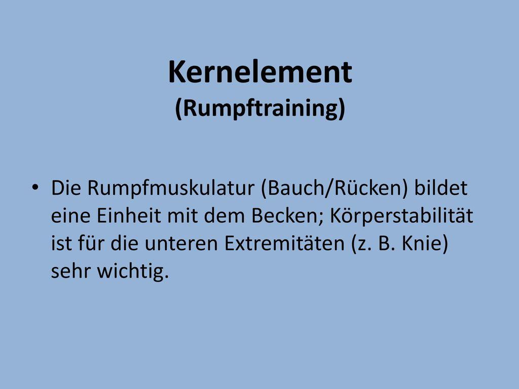 Kernelement (Rumpftraining)