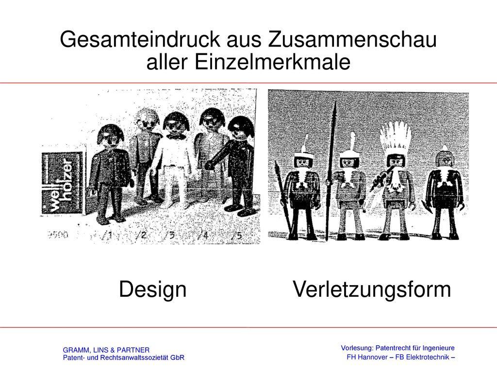 Gesamteindruck (§ 38 (2) DesignG)