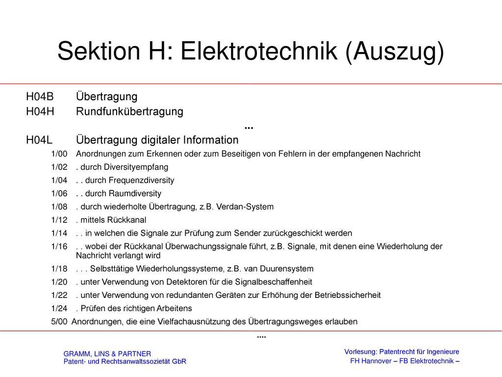 Internationale Patentklassifikation (IPC)