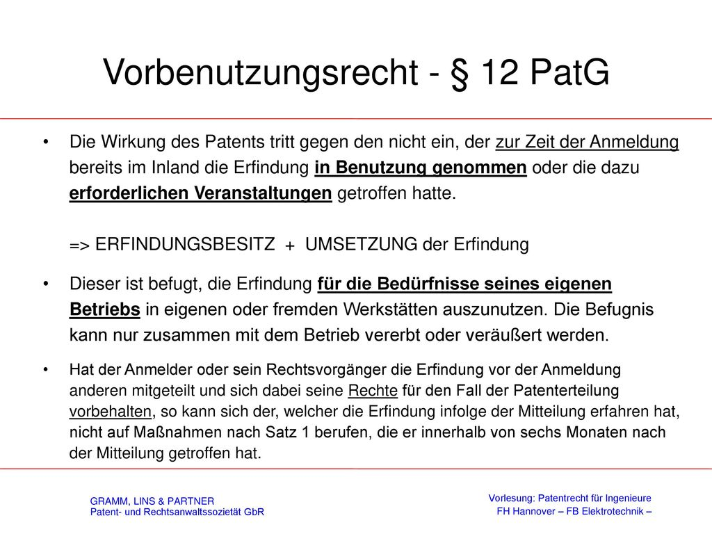 Mittelbare Patentverletzung