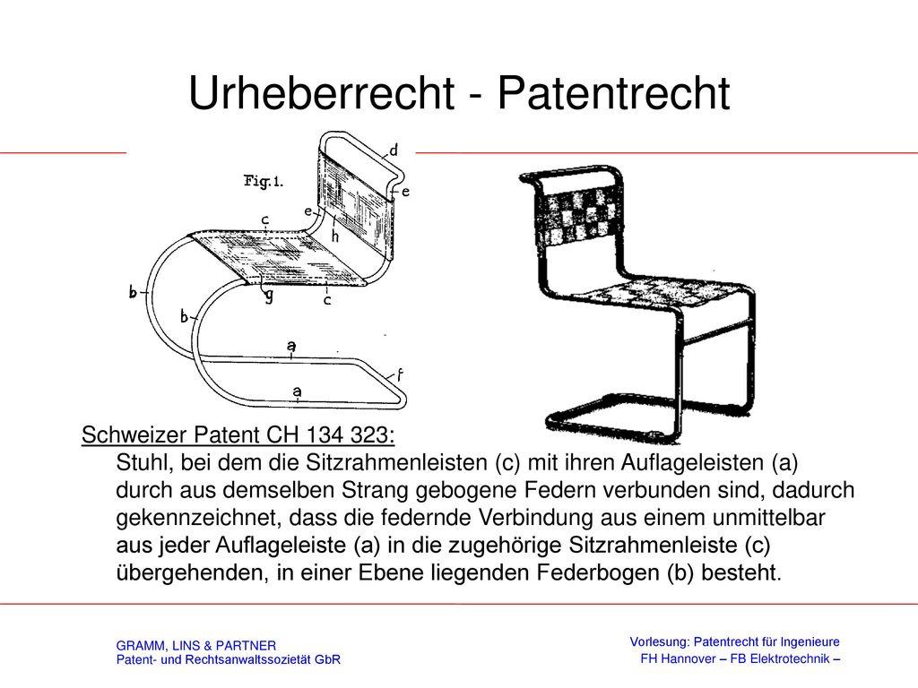 Urheberrecht - Patentrecht