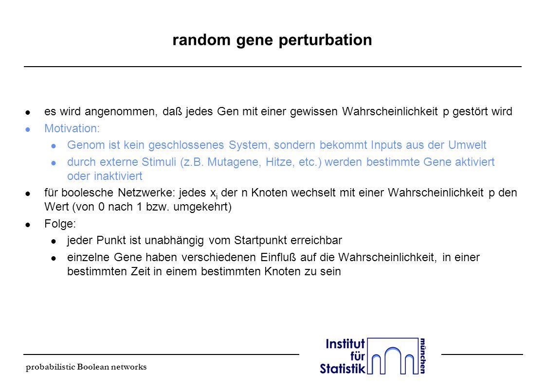 random gene perturbation