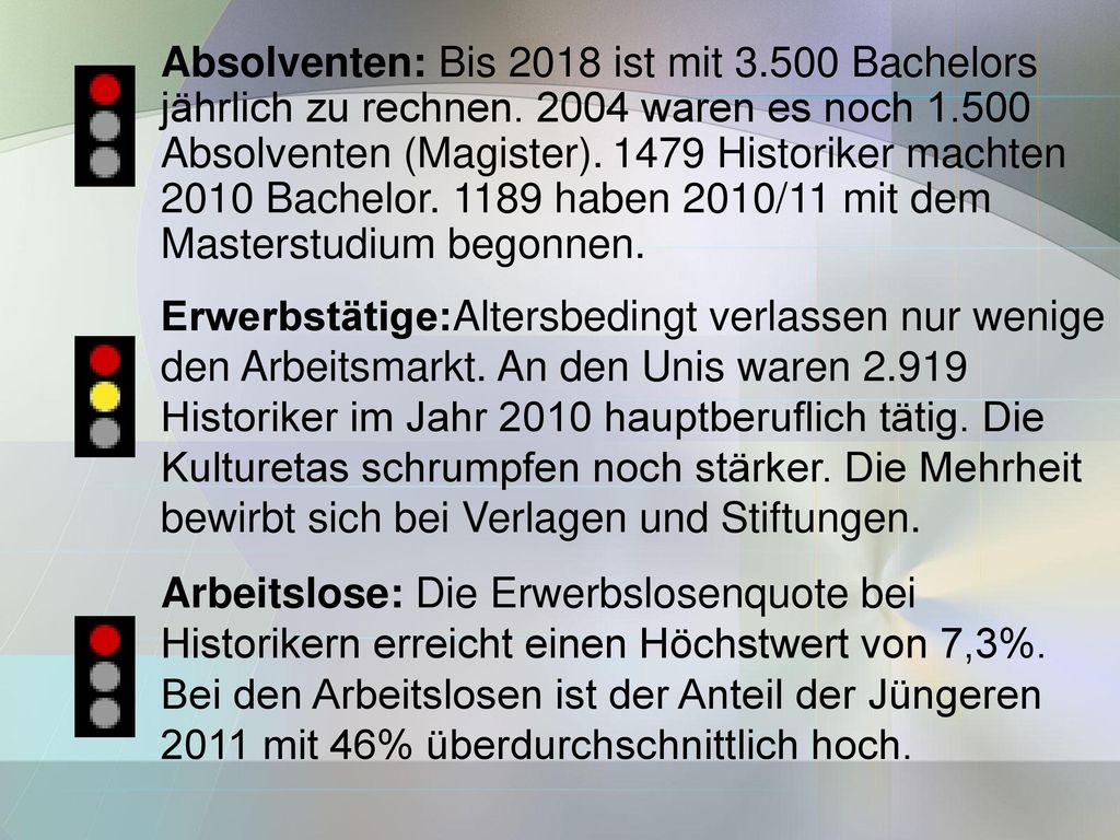 Absolventen: Bis 2018 ist mit 3.500 Bachelors