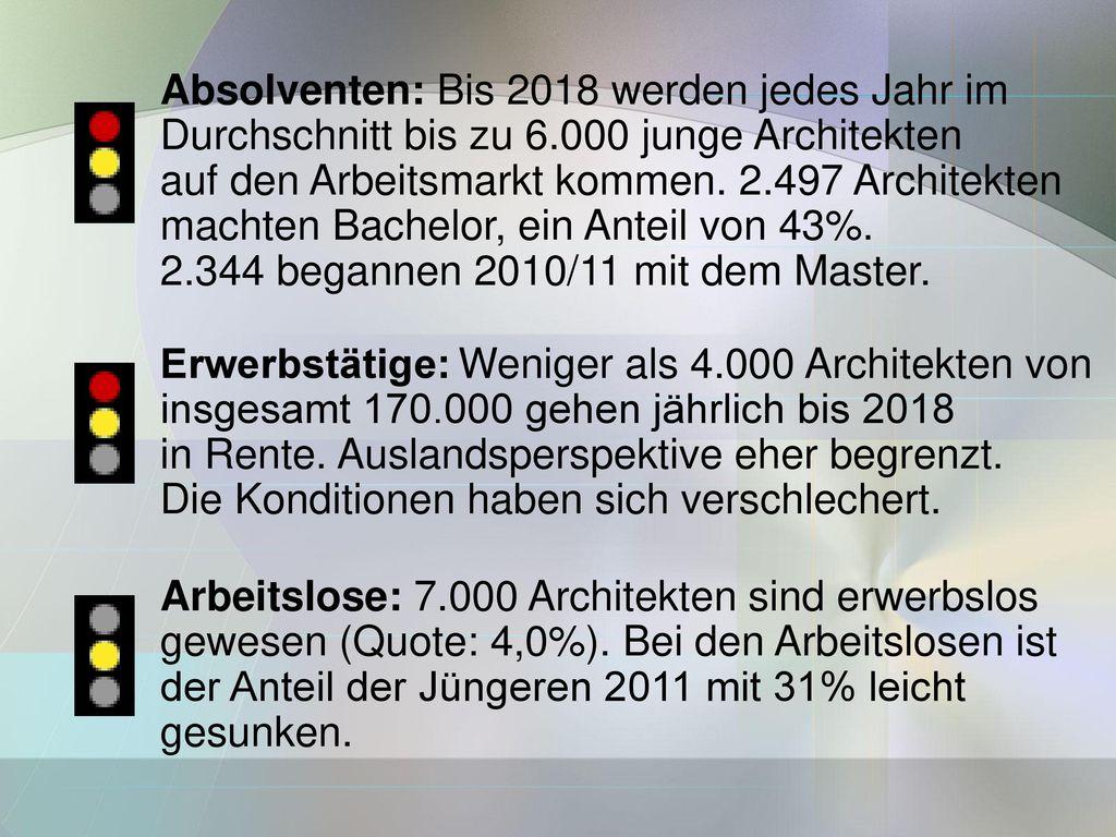 Absolventen: Bis 2018 werden jedes Jahr im