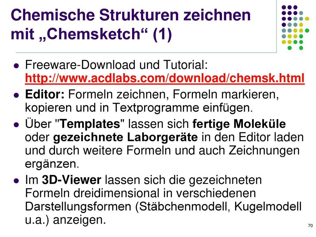 Makros zur automatischen Formatierung von chemischen Formeln