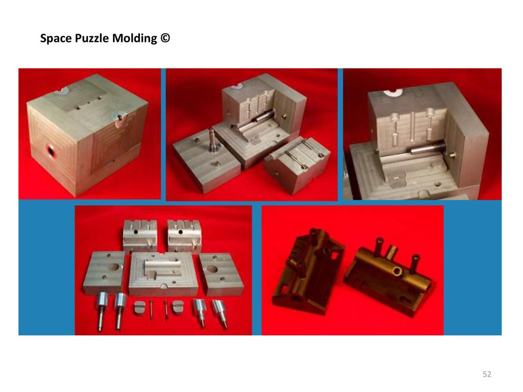 Space Puzzle Molding ©