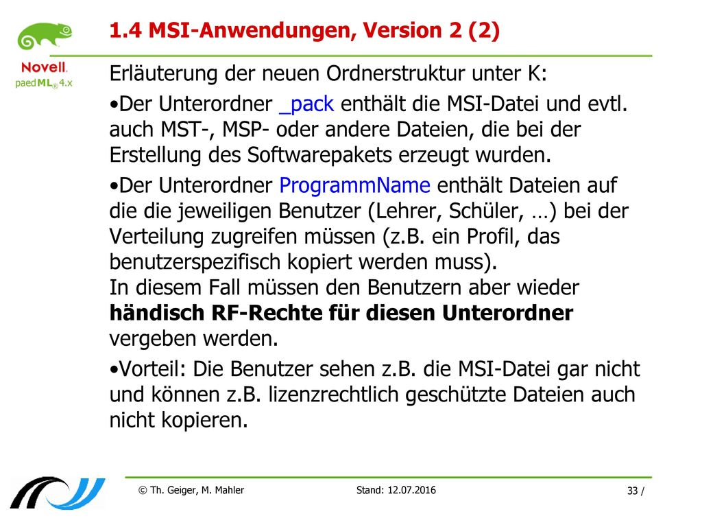 1.4 MSI-Anwendungen, Version 2 (2)
