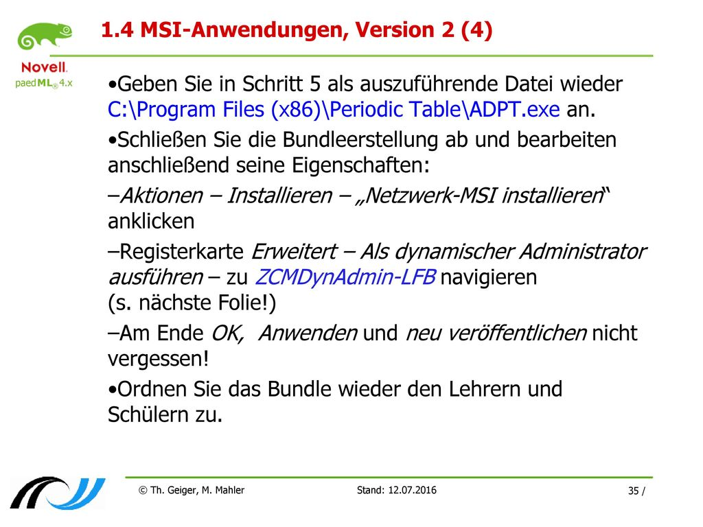 1.4 MSI-Anwendungen, Version 2 (4)