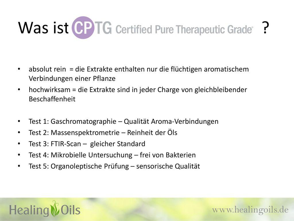 Was ist www.healingoils.de