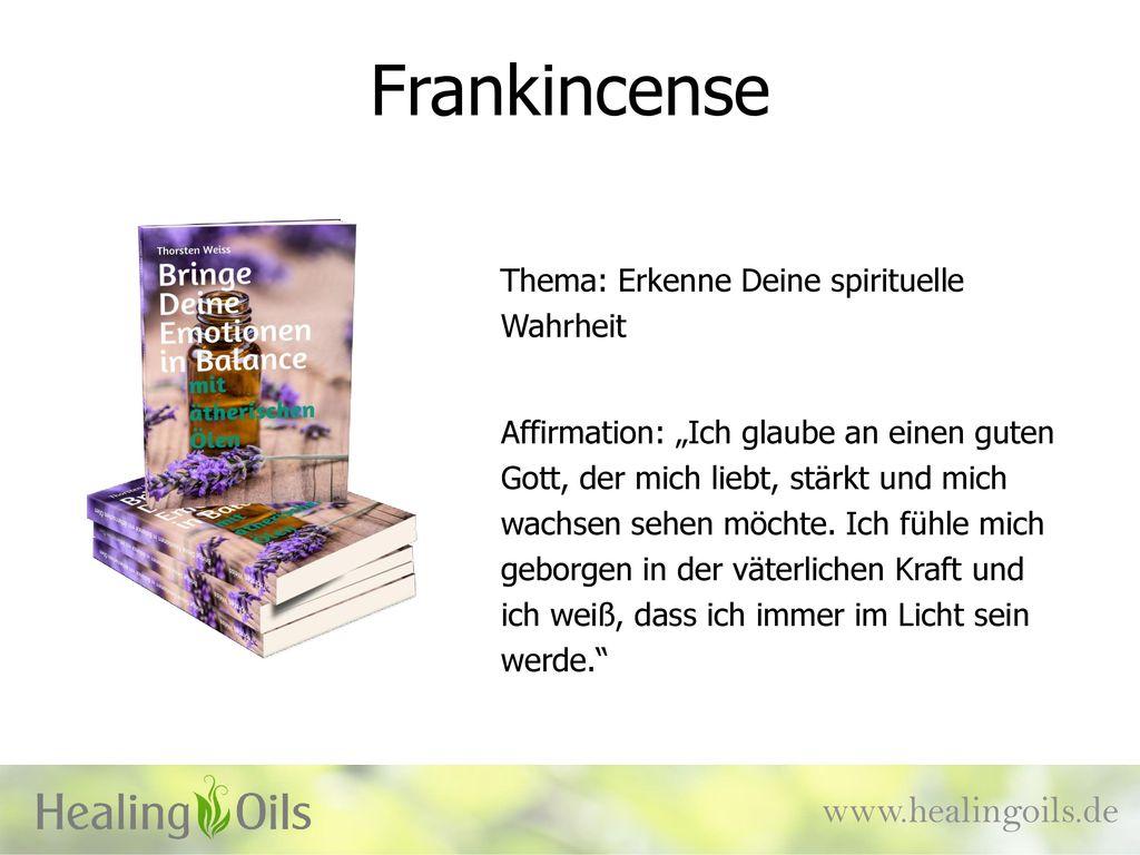 Frankincense www.healingoils.de