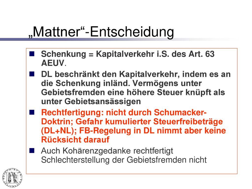 """Der Fall """"Vera Mattner"""