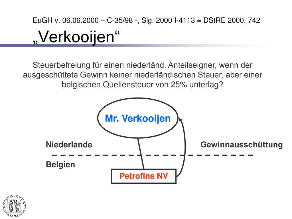 Folgerungen aus dem EuGH-Urt. im § 6b EStG-Fall
