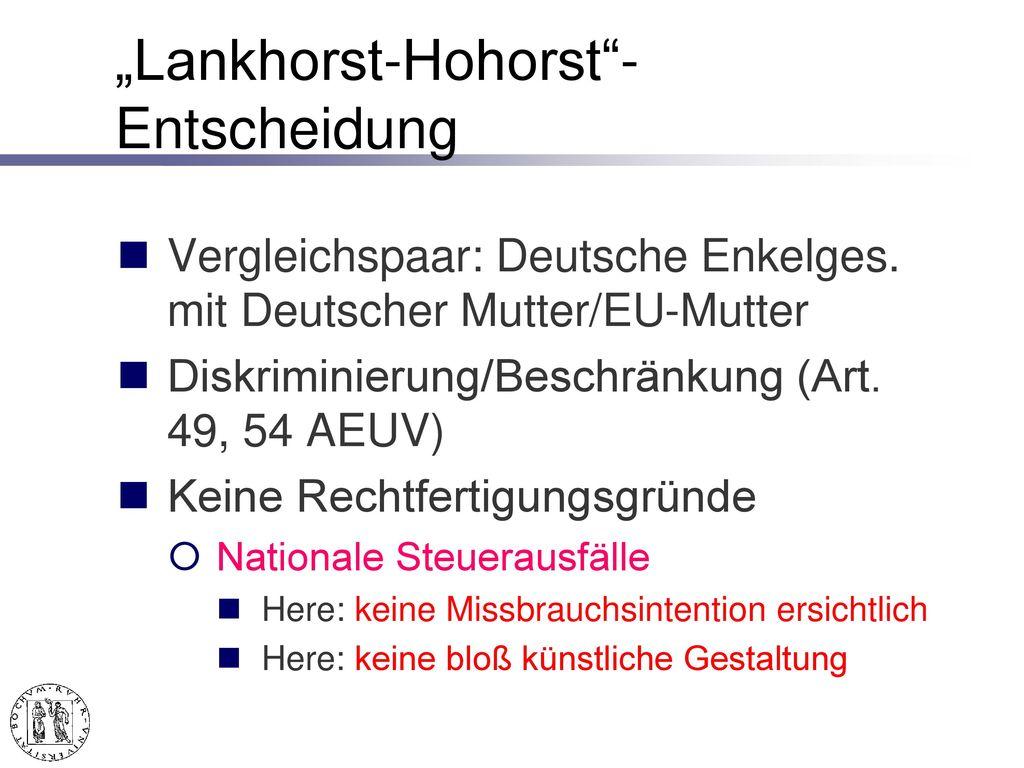 Lankhorst-Hohorst GmbH