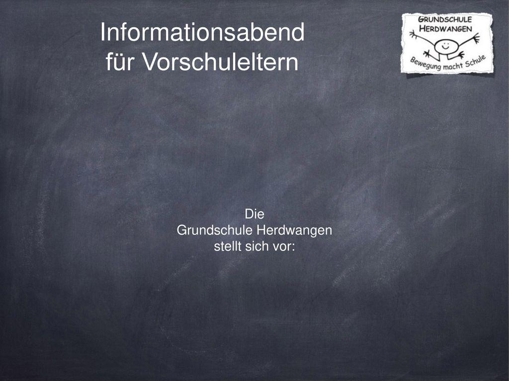 Informationsabend für Vorschuleltern
