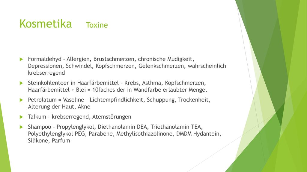 Kosmetika Toxine